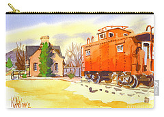 Red Caboose At Whistle Junction Ironton Missouri Carry-all Pouch