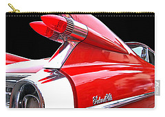 Red Cadillac Sedan De Ville 1959 Tail Fins Carry-all Pouch