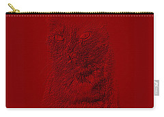 Red Cat Collection. Special... Carry-all Pouch by Oksana Semenchenko