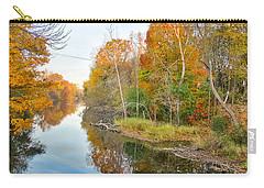 Red Cedar Fall Colors Carry-all Pouch by Lars Lentz