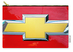 Red Chevy Bowtie Carry-all Pouch