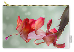 Red Christmas Cactus Bloom Carry-all Pouch