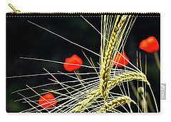 Red Corn Poppies Carry-all Pouch