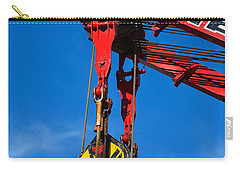 Red Crane - Photography By William Patrick And Sharon Cummings Carry-all Pouch by Sharon Cummings