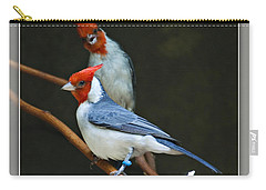 Red-crested Cardinal Carry-all Pouch