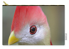 Red Crested Turaco Carry-all Pouch