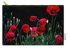 Red Dance Carry-all Pouch by Edgar Laureano