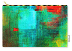 Red Dash Carry-all Pouch