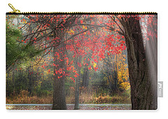 Red Dawn Square Carry-all Pouch
