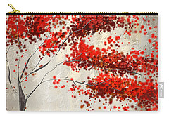 Red Divine- Autumn Impressionist Carry-all Pouch