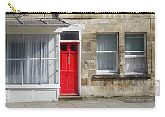 Red Door In Bath Carry-all Pouch