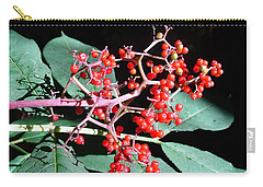 Red Elderberry Carry-all Pouch