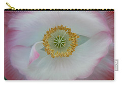 Red Eye Poppy Carry-all Pouch by Barbara St Jean