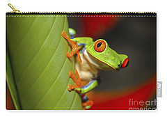 Red Eyed Leaf Frog Carry-all Pouch