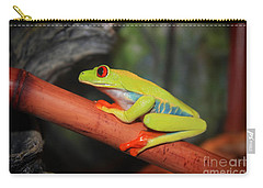 Red Eyed Tree Frog Carry-all Pouch