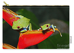Red Eyed Tree Frogs Carry-all Pouch