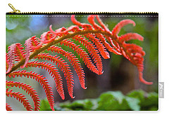 Autumn Fern In Hawaii Carry-all Pouch by Venetia Featherstone-Witty