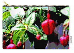Red Flower Buds Carry-all Pouch