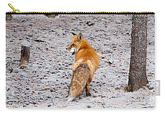 Red Fox Egg Thief Carry-all Pouch