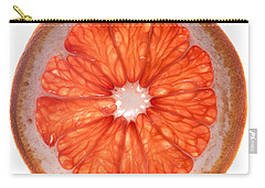 Red Grapefruit Carry-all Pouch by Steve Gadomski