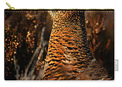 Carry-all Pouch featuring the photograph Red Grouse by Gavin Macrae