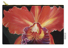 Red Hawaiian Orchid Carry-all Pouch