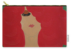Red Head Carry-all Pouch by Anita Lewis
