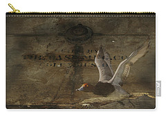 Red Head Duck Old Box Carry-all Pouch