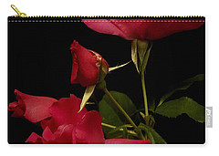 Carry-all Pouch featuring the photograph Red Is For Passion by Lucinda Walter