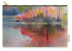 Red Lake Reflection #2 Carry-all Pouch