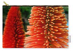 Red-orange Flower Of Eremurus Ruiter-hybride Carry-all Pouch