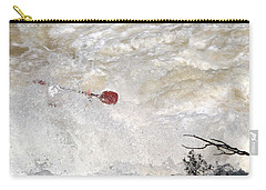 Carry-all Pouch featuring the photograph Red Paddle by Carol Lynn Coronios