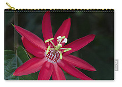 Red Passion Flower Carry-all Pouch