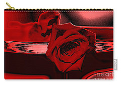 Red Passion. Rose Carry-all Pouch by Oksana Semenchenko
