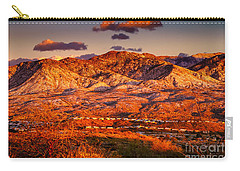 Red Planet Carry-all Pouch by Mark Myhaver
