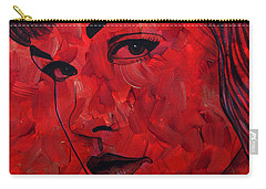 Red Pop Bettie Carry-all Pouch