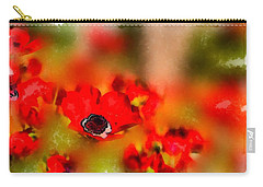 Red Poppies Inspiration Carry-all Pouch
