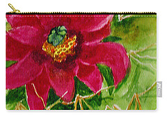Red Prickly Pear Carry-all Pouch