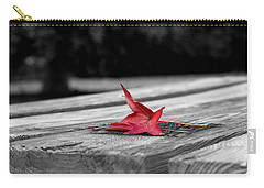 Red Carry-all Pouch by Rebecca Davis
