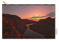 Red River... Carry-all Pouch by Tim Fillingim