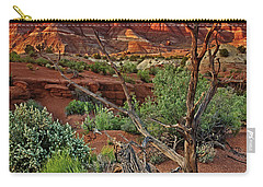 Red Rock Butte And Juniper Snag Paria Canyon Utah Carry-all Pouch
