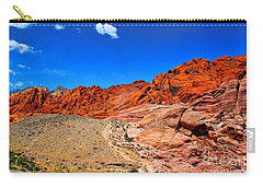 Red Rock Canyon Carry-all Pouch by Mariola Bitner
