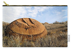 Red Rock Coulee I Carry-all Pouch by Leanna Lomanski