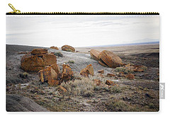 Red Rock Coulee II Carry-all Pouch by Leanna Lomanski