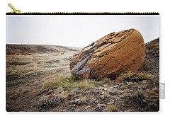 Red Rock Coulee IIi Carry-all Pouch by Leanna Lomanski