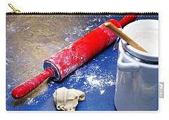 Red Rolling Pin Carry-all Pouch