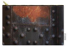 Red Rust Rivets Carry-all Pouch