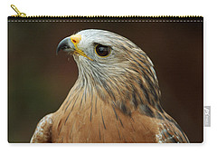 Carry-all Pouch featuring the photograph Red-shouldered Hawk by Doug Herr