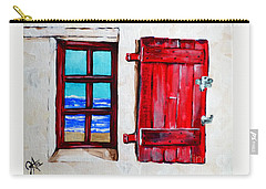 Red Shutter Ocean Carry-all Pouch