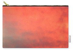 Red Sky At Night Carry-all Pouch by Laurel Powell